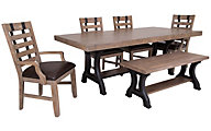 Samuel Lawrence Flatbush 6-Piece Dining Set