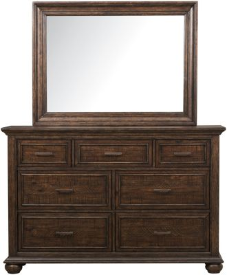 Samuel Lawrence Chatham Park Dresser with Mirror