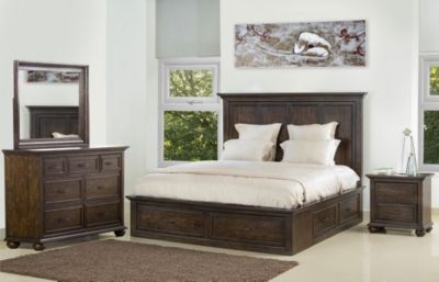 Samuel Lawrence Chatham Park 4-Piece King Storage Bedroom Set