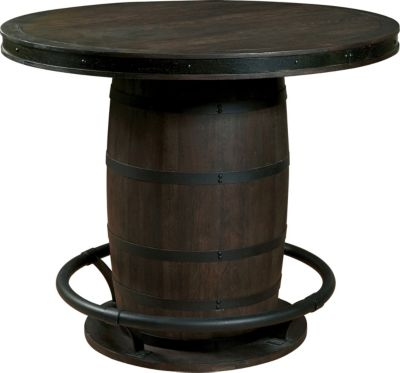 Samuel Lawrence Whiskey Barrel Counter Table