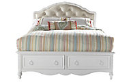Samuel Lawrence SweetHeart Upholstered Full Storage Bed