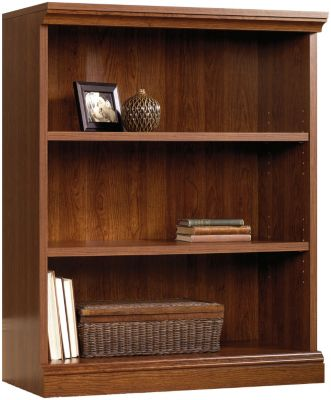 Sauder Camden County 3-Shelf Bookcase