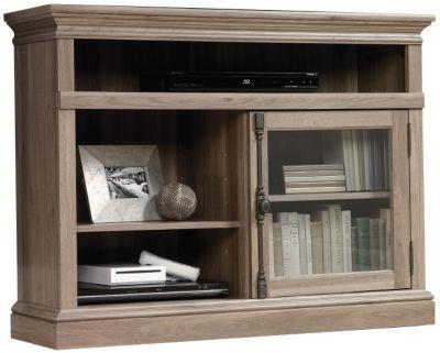 Sauder Barrister Lane Salt Oak Corner Tv Stand Homemakers Furniture