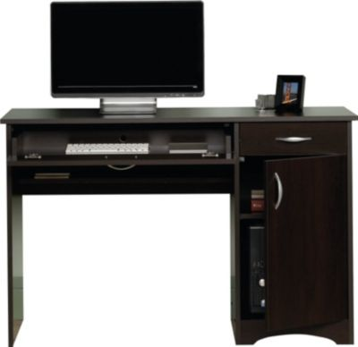 Sauder Beginnings Cinnamon Cherry Computer Desk