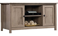 Sauder County Line Salted Oak TV Stand