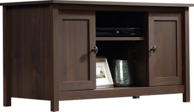 Sauder County Line Walnut TV Stand