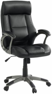 Sauder Manager Bonded Leather Executive Office Chair