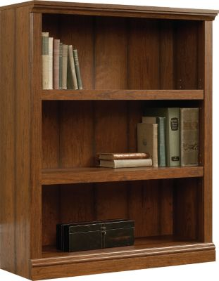 Sauder Select 3-Shelf Cherry Bookcase