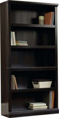 Sauder Select Estate Black Bookcase