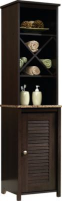 Sauder Peppercorn Linen Tower