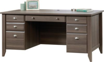 Sauder Shoal Creek Executive Desk Homemakers Furniture