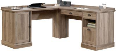 Sauder Barrister Lane LShaped Desk Homemakers Furniture