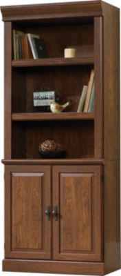 Sauder Orchard Hills Tall Bookcase with Doors