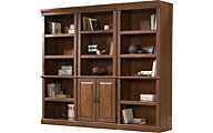 Sauder Orchard Hills Bookcase Wall