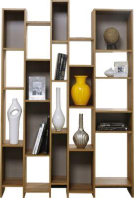 Sauder Soft Modern Geometric Bookcase   Homemakers Furniture on