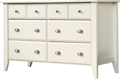 Sauder Shoal Creek White Dresser