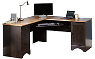 Sauder Harbor View Corner Desk