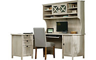 Sauder Costa Corner Desk with Hutch