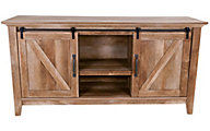 Sauder Dakota Pass Barn Door Credenza