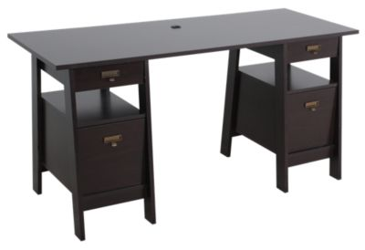 Sauder Select Executive Trestle Desk