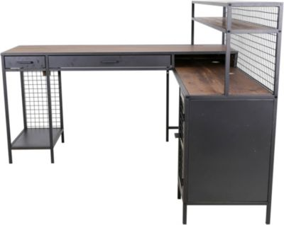 Sauder Boulevard Cafe L-Shaped Desk