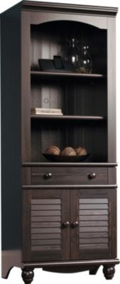 Sauder Harbor View Tall Bookcase with Doors