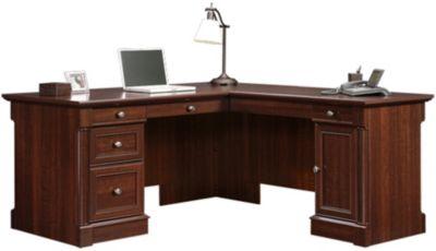 Sauder Palladia LShaped Desk Homemakers Furniture
