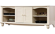 Sauder Harbor View White TV Stand