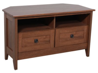 Sauder August Hill Corner Tv Stand Homemakers Furniture