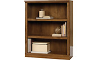 Sauder Select 3-Shelf Oiled Oak Bookcase
