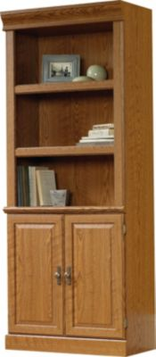 Sauder Orchard Hills Tall Door Bookcase