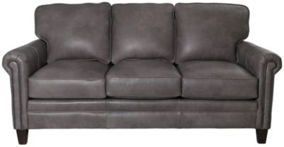Smith Brothers 234 Collection 100% Leather Sofa