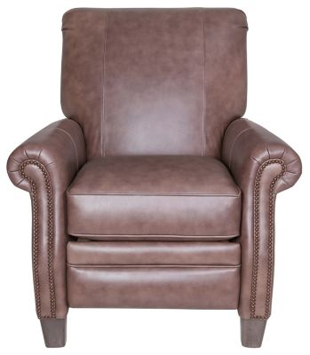 Smith Brothers 241 Collection 100% Leather Recliner