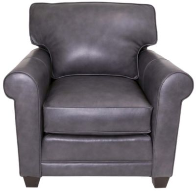 Smith Brothers 366 Collection 100% Leather Chair