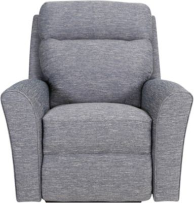 Smith Brothers 418 Collection Power Recliner with Power Headrest