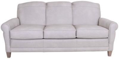 Smith Brothers 374 Collection 100% Leather Sofa