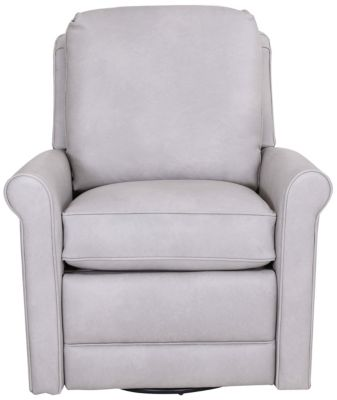 Smith Brothers 733 Collection 100% Leather Power Recliner