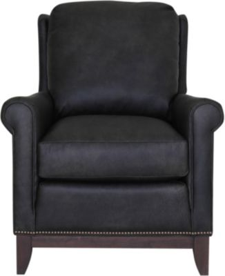 Smith Brothers 258S Collection 100% Leather Tilt-Back Chair