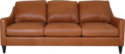 Smith Brothers 261S Collection 100% Leather Sofa