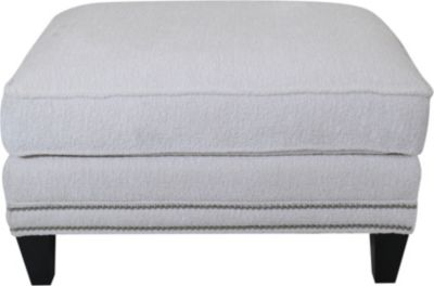 Smith Brothers 243 Collection Cream Ottoman
