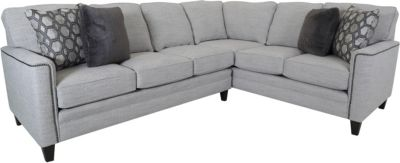 Smith Brothers 3000S Collection 2-Piece Sectional Right-Side Corn