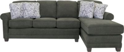 Smith Brothers 366 Collection 2-Piece Sectional with Right-Facing