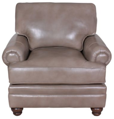 Smith Brothers 5000 Collection 100% Leather Chair