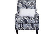 Seminole Big Shot Navy Wingback Chair with Pillow