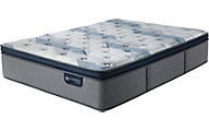 Serta Mattress Blue Fusion 300 Plush Pillow Top Mattress