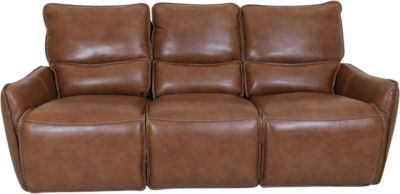 Simon Li M193 Collection Leather Power Reclining Sofa
