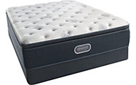 Simmons Beautyrest Silver Sand Dollar Firm Pillow Top Mattress