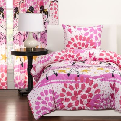 Sis Covers Twinkle Toes 2-Piece Twin Comforter Set