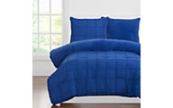 Sis Covers Playful Plush Blueberry 2-Piece Twin Comforter Set