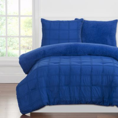 Sis Covers Playful Plush Blueberry 3-Piece Full/Queen Comfort
